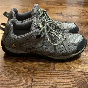 Columbia Women's Hiking Shoes Size 6.5